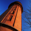 Water tower on sundown lighting — Stock Photo