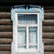 Stock Photo: Old-fashioned figured window