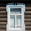 Old-fashioned figured window - Stock Photo