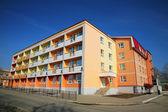 Colourful dwelling house — Stock Photo