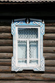 Old-fashioned figured window — Stock Photo