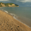 Black Sea's beach — Stock Photo