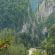 Mountain's landscape in Abkhazia - Stock Photo