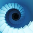 3d spiral staircase — Stock Photo #2466589
