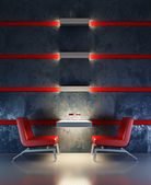 Lounge room interior — Stock Photo