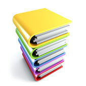 Sheaf office folders — Stock Photo