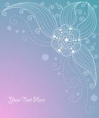 милый цветочный фон — Cтоковый вектор