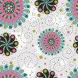 Cute floral seamless background — Zdjęcie stockowe #1689594