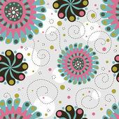 милая цветочные бесшовный фон — Стоковое фото