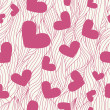 Foto Stock: Heart seamless background