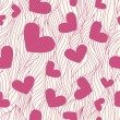 Heart seamless background — Stockfoto #1790795