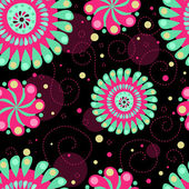 Psychedelic abstract seamless background — Stock Photo