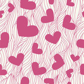 Heart seamless background — Zdjęcie stockowe