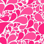 Cute paisley seamless background — Stock Photo