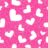 Heart seamless background — Stock Photo