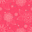Foto Stock: Seamless floral background