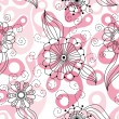 Seamless floral background — Zdjęcie stockowe #1856450