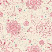 бесшовный цветочный фон — Стоковое фото