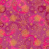 Sömlös floral bakgrund — Stockfoto
