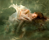 Mermaid with — Stock Photo