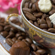 Chocolate end coffee — Lizenzfreies Foto