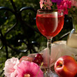 Glass of wine — Stockfoto