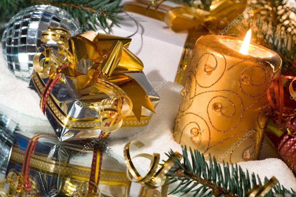 Подарок своими руками из свечи