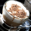Стоковое фото: Cafe - coffee Latte Cappuccino