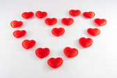 Heart - red symbol of love — Stock Photo