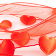 Stock Photo: Some reds hearts