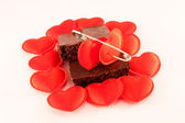 Chocolate with love — Stock Photo