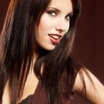 Close-up portrait of beauttiful woman — Stock Photo