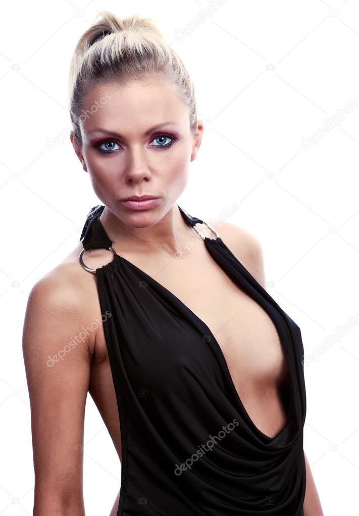 Sexy beautiful blonde — Stock Photo #1626306