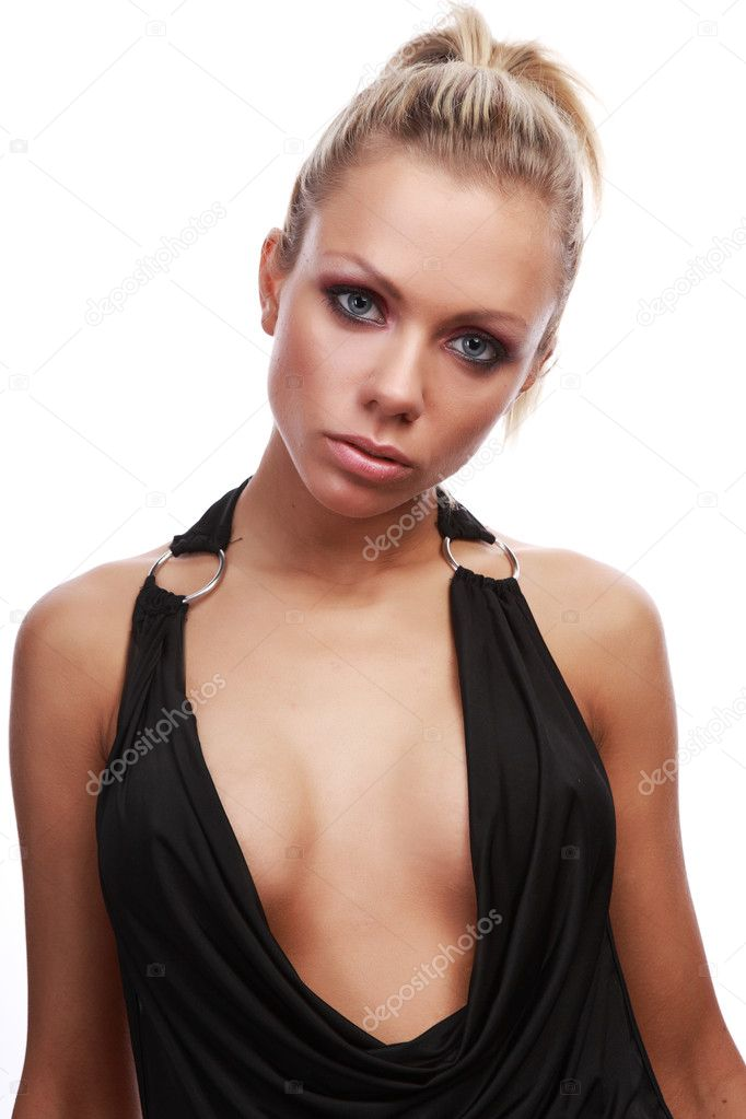 Sexy beautiful blonde — Stock Photo #1626420