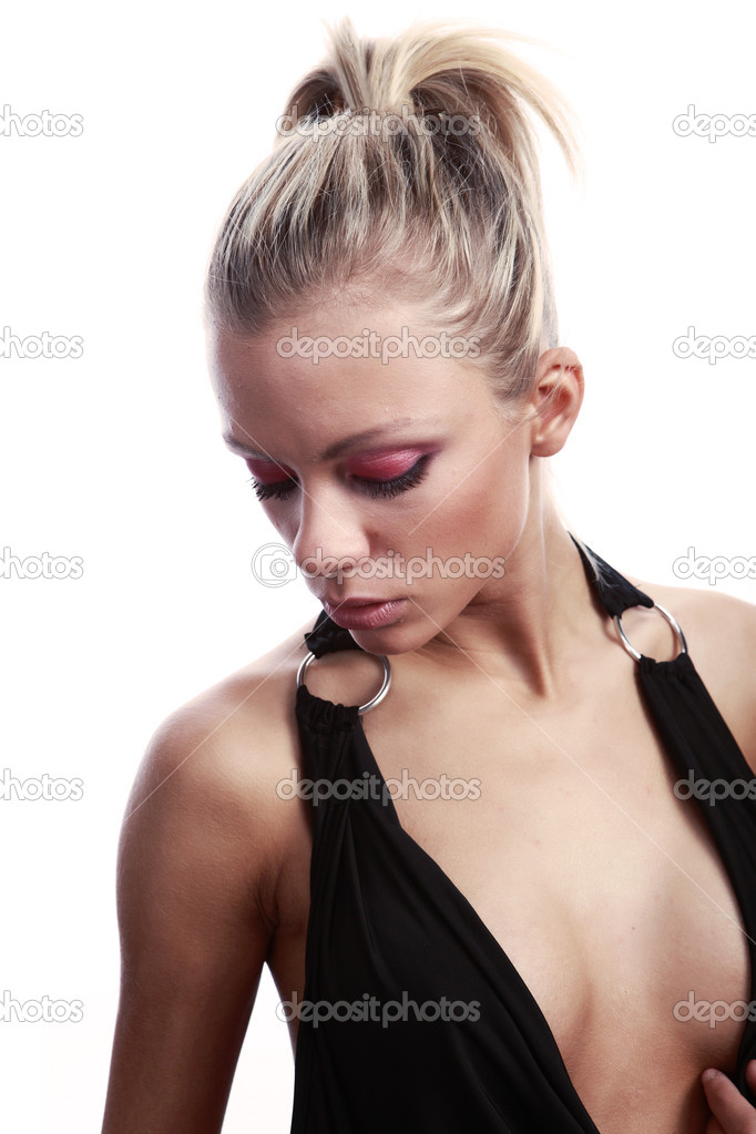 Sexy beautiful blonde — Stock Photo #1626495
