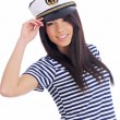 Captain woman — Stock Photo #1655923