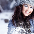 Winter portrait of woman — Stock Photo #1660681