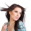 Portrait of a woman with long hair — Stock Photo #1708012
