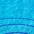 Stok fotoğraf: Blue Swimming pool  background
