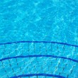 图库照片: Blue Swimming pool  background