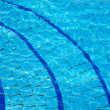 Stock Photo: Blue Swimming pool background
