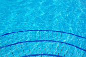 Blue Swimming pool  background — Photo