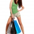 Shopping woman. — Stock Photo #1825670