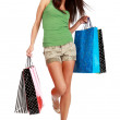 Shopping woman. — Stock Photo #1825746