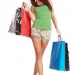 Shopping woman. — Stock Photo #1825881