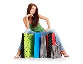 Shopping woman. — Stock Photo