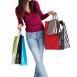 Sexy shopping girl — Stock Photo #2542279