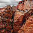 Reliefs of Zion Canyon — Stock Photo #1591912