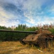 Old soviet military tank — Stock Photo #1605832