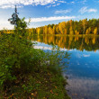 Autumnal lake — Stock Photo #1606027